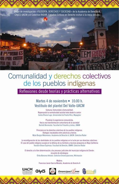 Comunalidad y derechos de los pueblos indígenas